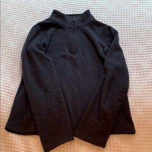 dark gray fleece